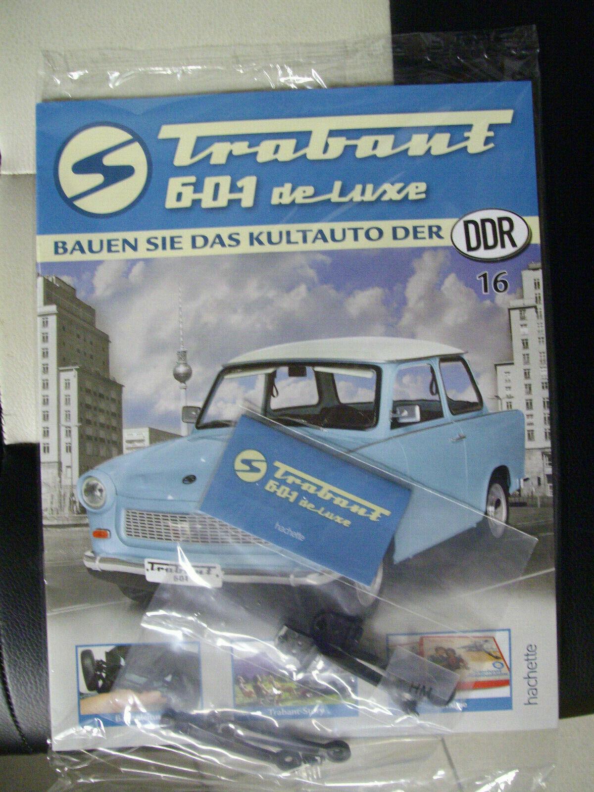 Bau das Kultauto der DDR den Trabant 601 de Luxe-Ausgabe 16