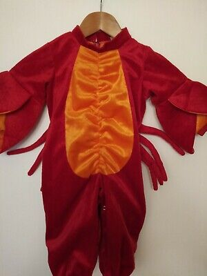 In Character Lobster Baby/toddler Halloween Costume