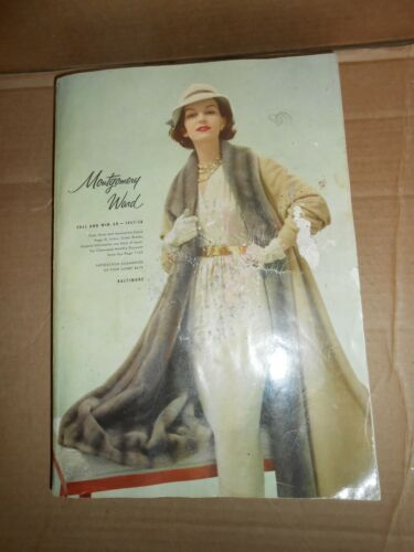 vintage montgomery ward 1957-58 catalog fall winter department store advertising