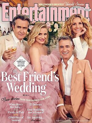 Entertainment Weekly #1549/1550 My Best Friend's Wedding Reunion Julia