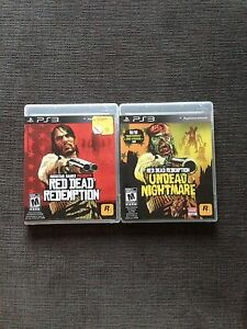 PS3 Red Dead Redemption Games