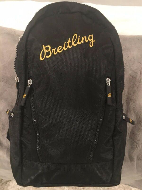 ORIGINAL BREITLING BLACK BACKPACK BRAND NEW