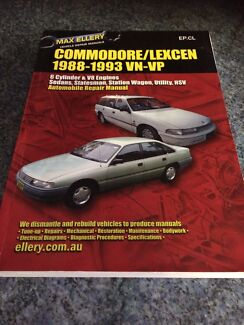 Holden commodore vn to vp workshop manual Seville Grove Armadale Area Preview