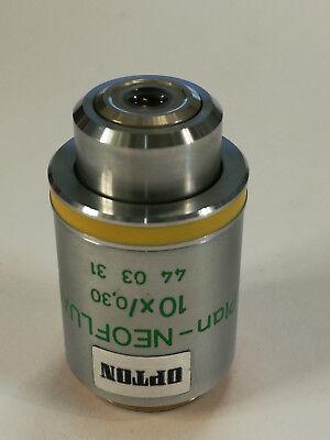Zeiss Mikroskop Objektiv Plan-neofluar 10x030 Ph1 440331