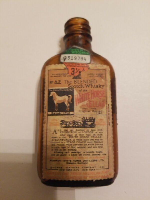 Vintage White Horse Cellar Blended Scotch Whisky (EMPTY)