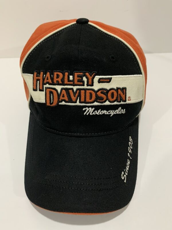 Harley Davidson Motorcycle Since 1905 Cotton Baseball Cap Size XL