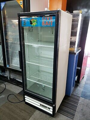 Glass Door Beverage Cooler True Gdm-12 Commercial Drink Refrigerator Nsf