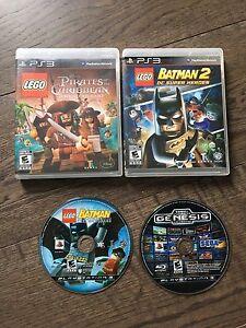 PS3 lego pack and bonus Genesis game