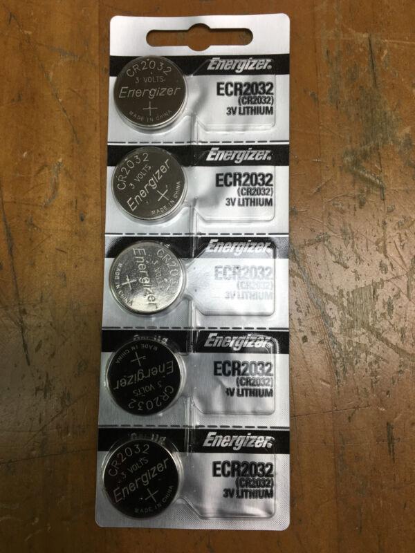 Energizer Batteries ECR2032 CR2032 (5 piece) 3v Lithium Battery