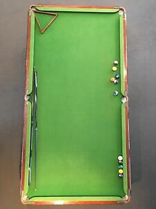 Slate Pool Table 8 x 4 excellent condition Clear Island Waters Gold Coast City Preview