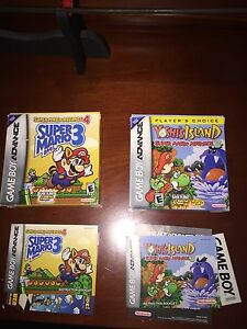 Super Mario gba box only