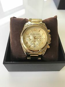 Michael Kors Gold Chronographic Watch