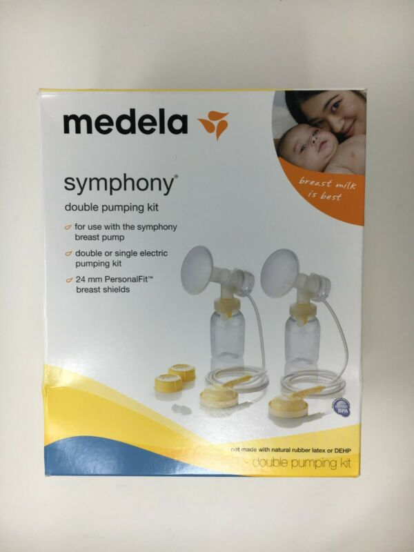 """Open Box - Missing Container Lids & Tubing""- Medela Symphony Double Pumping Kit"