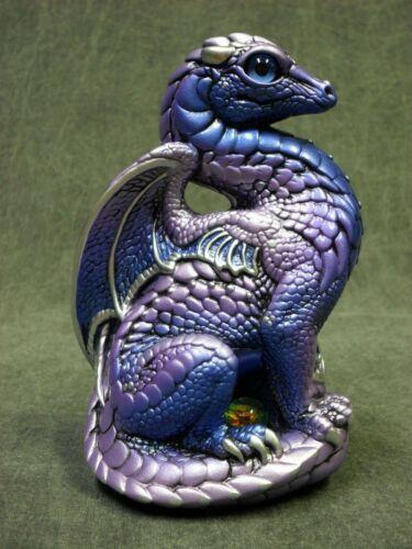 Windstone Editions NEW * Tanzanite Bantam Dragon * Statue Figurine Fantasy