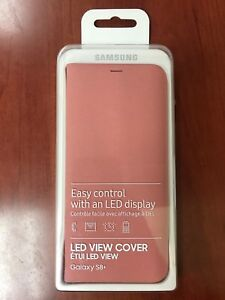 Samsung S8 plus LED view cover