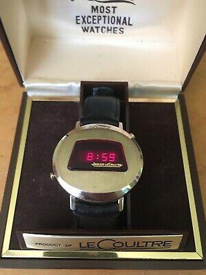 Jaeger Lecoultre Master Quartz Digital LED digital Watch from 70s