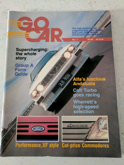 "For Sale ""GO CAR"" Car Magazine issues 1 and 2."