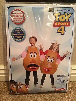 Mr Mrs Potato Head Halloween Costumes (Disney Toy Story Mr. Mrs. Potato Head Halloween Dress Up Costume Child Size)