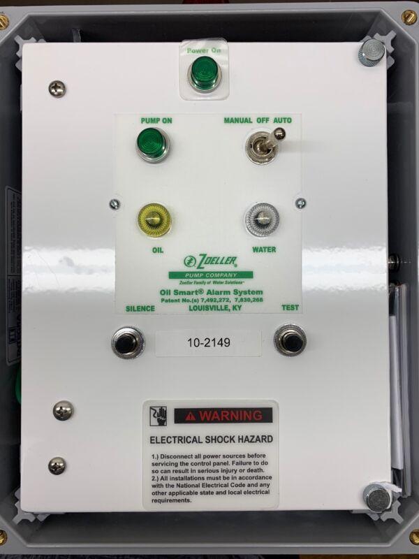 Zoeller 10-2149, Oil Smart Simplex Control Panel 115V 1Ph