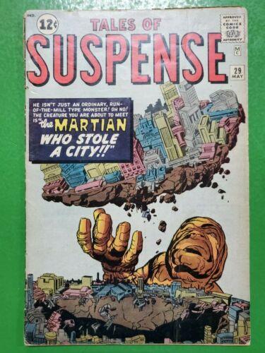 TALES OF SUSPENSE #29 Steve Ditko Jack Kirby 1962 ATLAS/MARVEL GD