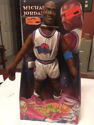 Michael Jordan Rare Play By Play Cloth Doll / Figure In Box 1996