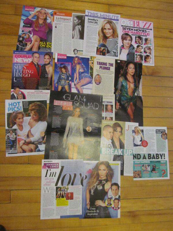 Jennifer Lopez, Lot of Ten Clippings