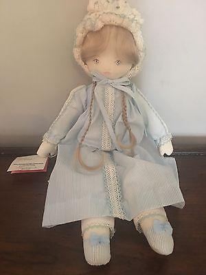 "Dolls by Pauline Bjonnes Jacobsen...17"" ""Elsa"" Cloth Doll w/tag"