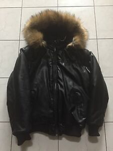 Brave & Fearless Fur Hood Jacket