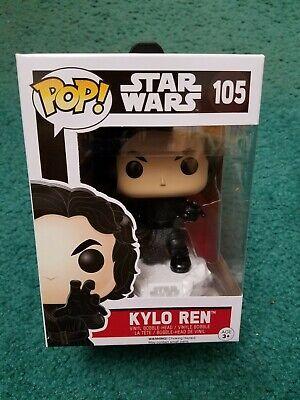 Funko Pop Star Wars The Force Awakens Kylo Ren #105