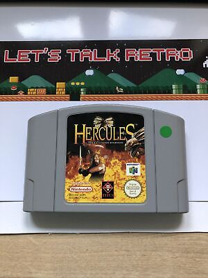 Hercules Nintendo N64 PAL Cart Only Tested