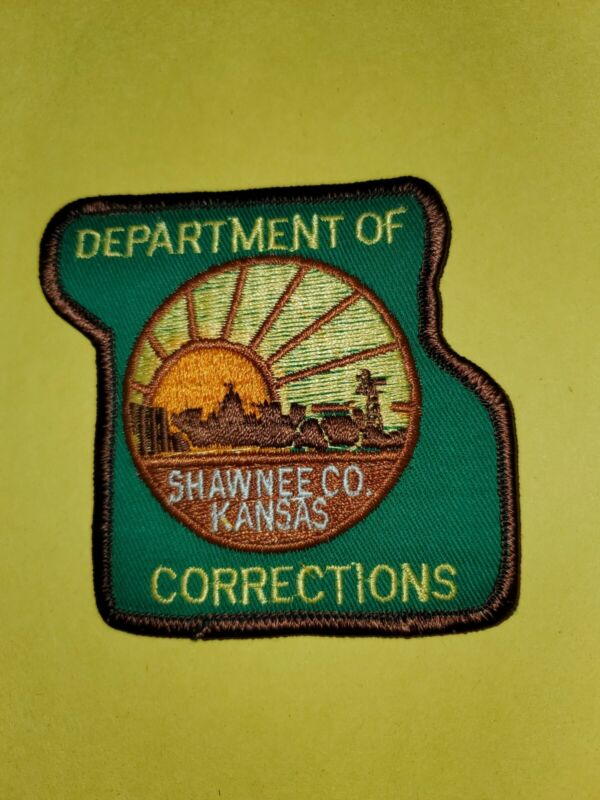 Shawnee County Kansas Dept Of Corrections Patch