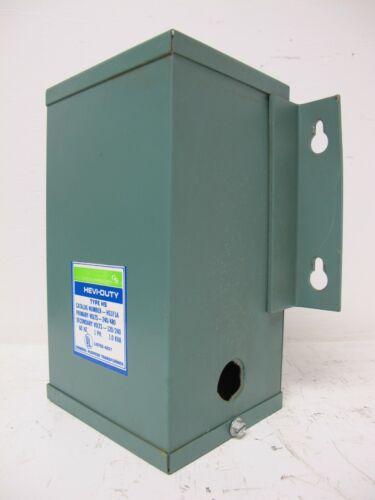 GS Hevi-Duty Transformer 1 kVA 1 Phase 240 x 480/120/240 1KVA HS HS1F1A 1 PH