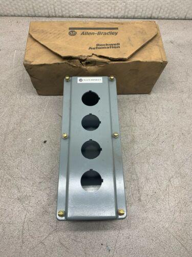 New In Box Allen-bradley Die Cast Pushbutton Enclosure 800t-4tz Series T