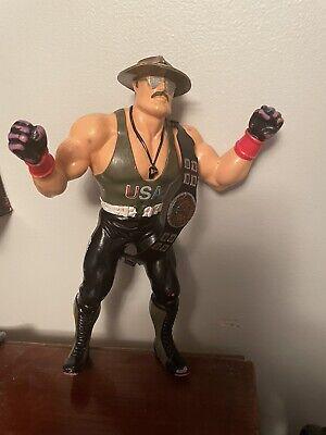 Vintage Hasbro LJN Sgt Slaughter Mail Away Figure - GI Joe - WWF WWE Wrestling