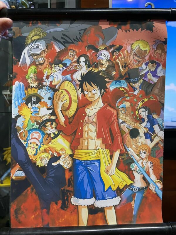 One Piece Small Wall Scroll