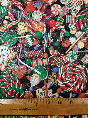 Christmas Candy Cane Lollipop Mints Glitter Red Green Curtain Valance 13
