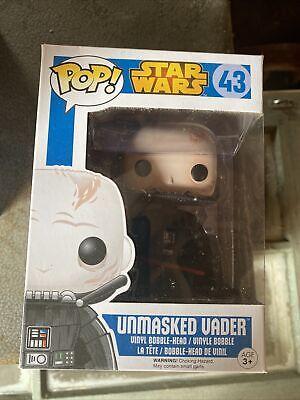 Funko POP Star Wars Darth Vader Unmasked Vinyl Bobble Head 43