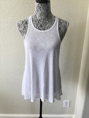 Nwt Free People Top Small White Swing Tank