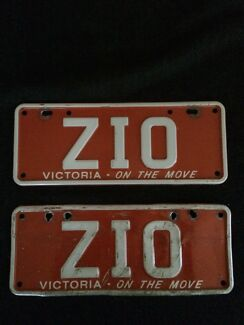 ZIO Custom Number Plates [VIC]