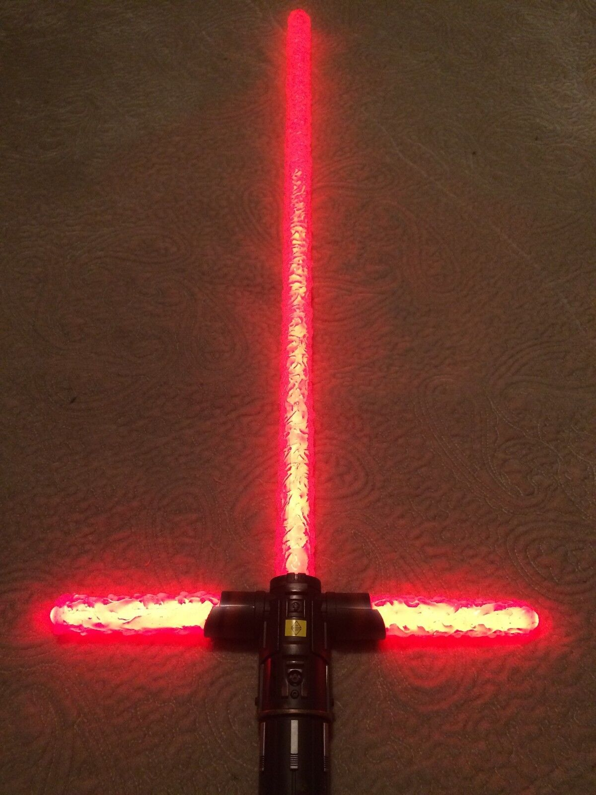STAR WARS KYLO REN LIGHTSABER UNSTABLE BLADE COVERS, VHTF, FOR SHOW/COSPLAY - $26.50