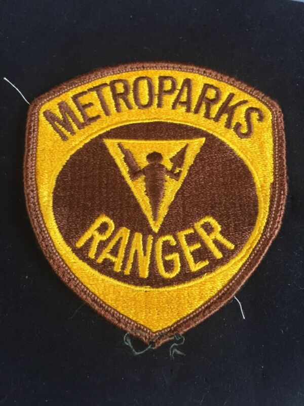 Metroparks Ranger Patch MICHIGAN Police Uniform Take Off MI Metro Park