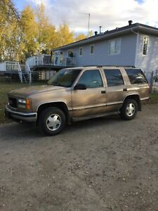 For Sale 1996GMC Yukon 1500 SLE 4x4 5.7 litre