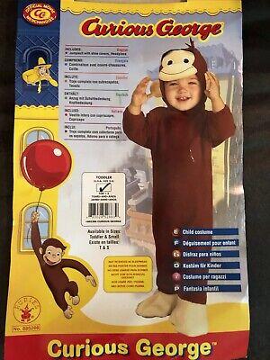 Curious George Costume Baby Monkey Halloween Fancy Dress](Curious George Costume Infant)