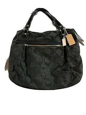 Coach Large Black Handbag.