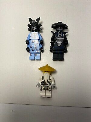 Lego Minifigure Lot Ninjago Sensei Wu Lord Garmadon Master Pajamas Villain