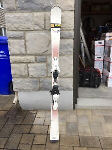Salomon Bamboo skis (Woman)