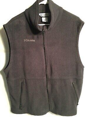 COLUMBIA SPORTSWEAR OUTERWEAR PLUSH VEST  - SIZE LARGE (Columbia Sportswear Plush)