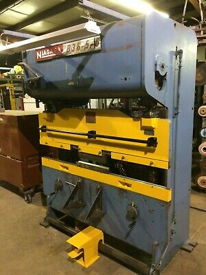 Niagara B36-5-6 Mechanical Press Brake - See Video Link In Description