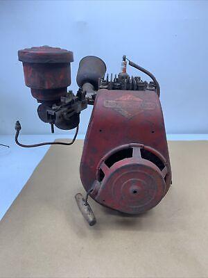 Vintage Briggs Stratton Model 6s Rope Start Gasoline Engine