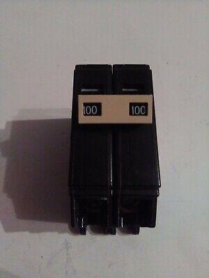 New Cutler Hammer Ch2100 100 Amp Double Pole 120240v Circuit Breaker